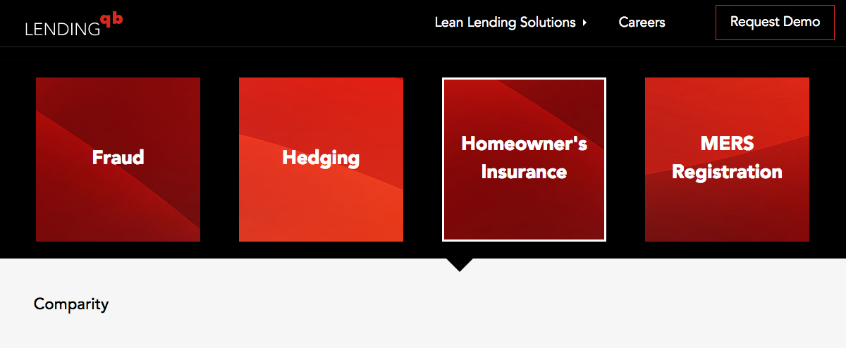 Comparity simplifies home insurance for LendingQB lenders and their clients.